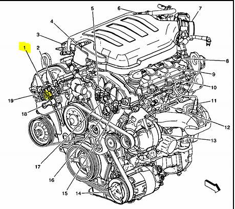 Got P0011 Code 2009 Chevy Malibu Where The Bank Censor Located on 2004 silverado wiring diagram p…