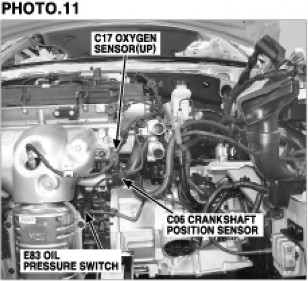 Hyundai Accent 2009 Model Crankshaft Position Sensor