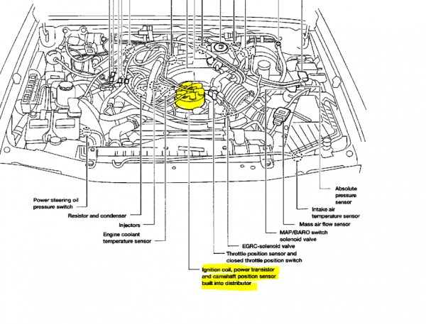 2000 Nissan Maxima Oxygen Sensor Location on 2002 ford ranger engine diagram