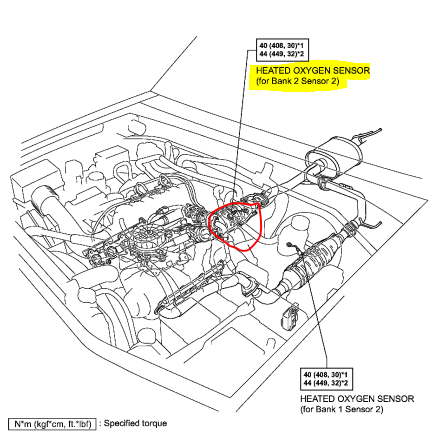 Where P0053 Sensor Located Toyota Landcruiser Lexus Lx470 on lexus lx