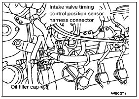 on nissan intake valve timing control solenoid