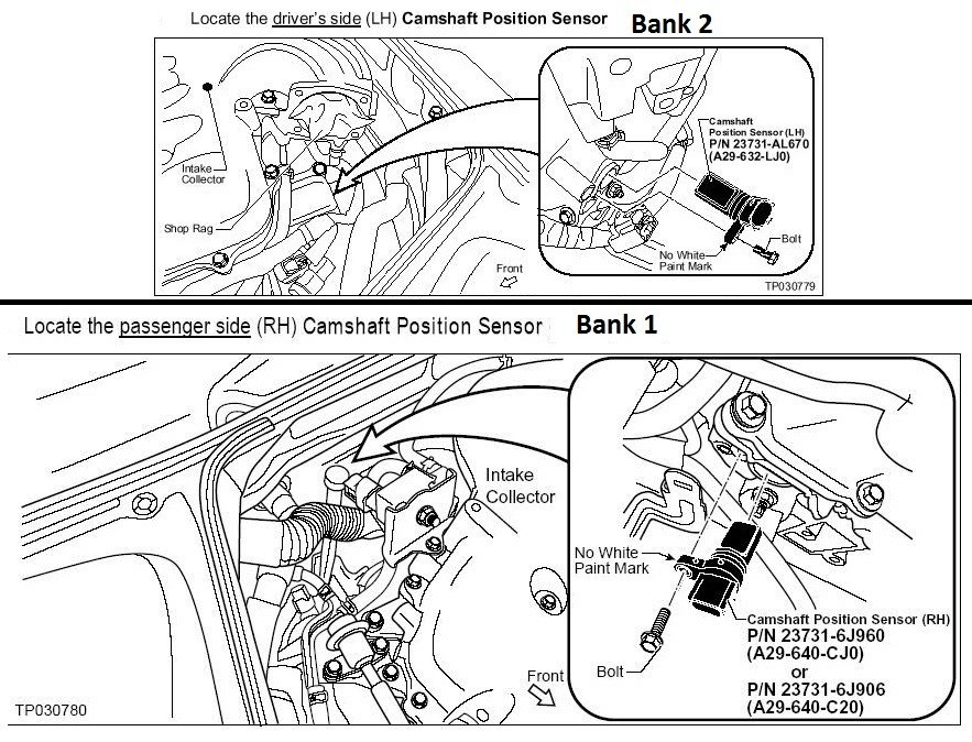G35 Crankshaft Position Sensor