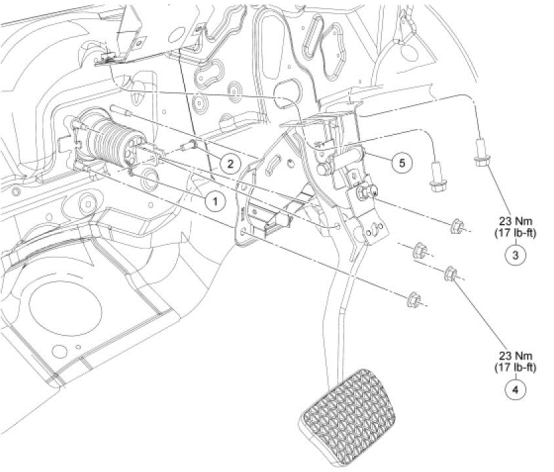 OBDII Code P1572 2011 Ford Fusion - Brake Pedal Switch Circuit Malfunction - AutoCodes.com