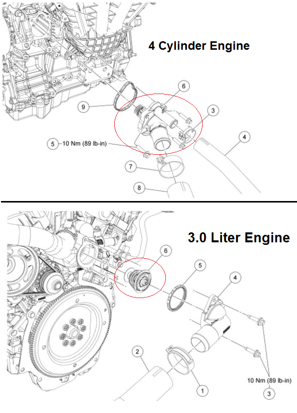 OBDII Code P1117 2012 FORD FUSION - Engine Coolant Temperature Sensor Intermittent - Engine-Codes.com