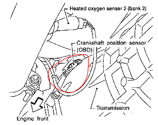 P0335 2002 Nissan Xterra Crankshaft Position Sensor Circuitrhautocodes: 2002 Nissan Altima Crank Sensor Location At Gmaili.net