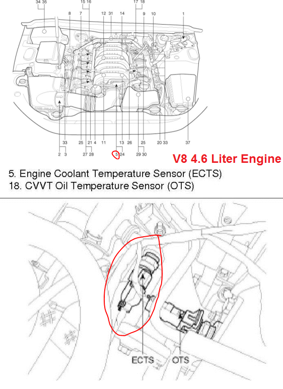 OBDII Code P0116 2011 Hyundai Genesis Sedan - Engine Coolant Temperature Circuit Range/Performance - AutoCodes.com